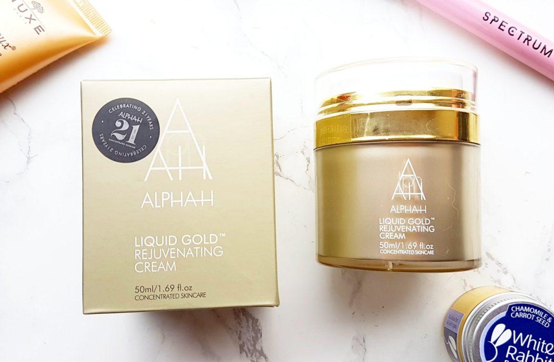 Aplha H liquid gold moisturiser