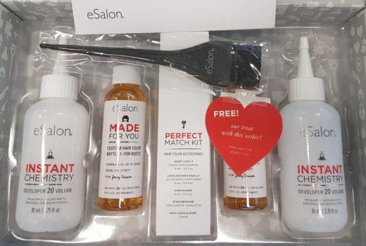 esalon hair colour kit review